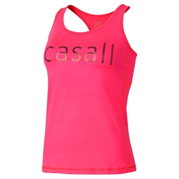 Casall Logo Tank - Pink * Kampanja *  - Size: 15180 - Color: roosa