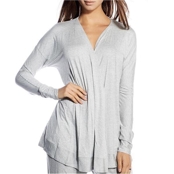 Image of Calvin Klein Cardigan Grey Melange - Grey * Kampanja *  - Color: harmaa