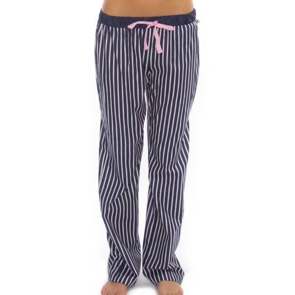 Rayville Womens Pj Pants Chrissie - Navy Striped