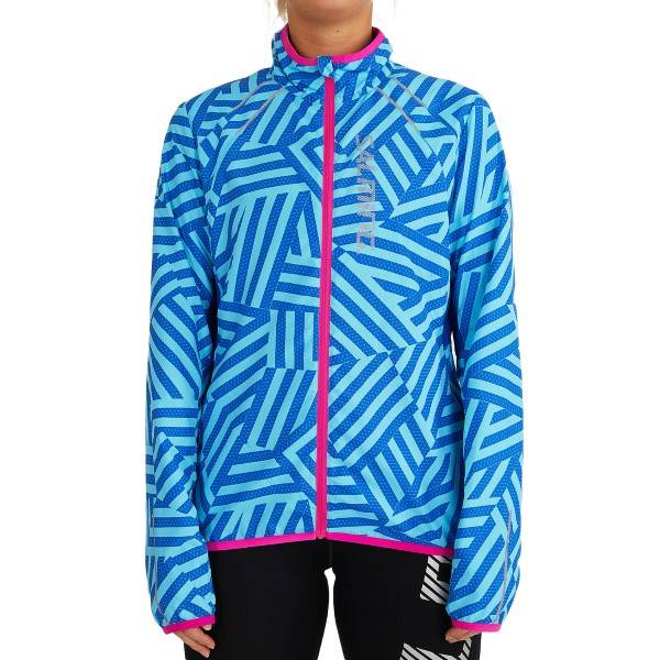 Salming Ultralite Jacket 2.0 Women - Lightblue  - Size: 1278648 - Color: vaalean sin.