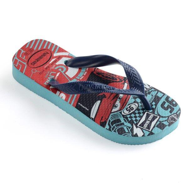 Havaianas Kids Cars - Blue Pattern * Kampanja *  - Size: 4123463 - Color: Sininen kuvioi