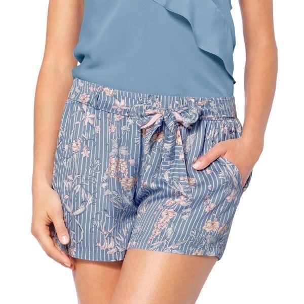 Triumph Lounge Me Natural Mix and Match Shorts - Blue Pattern * Kampanja *  - Size: 10194929 - Color: Sininen kuvioi