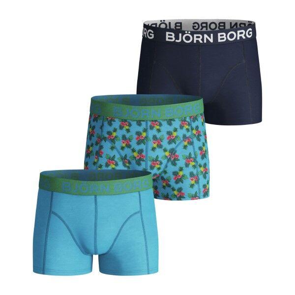 Björn Borg 3 pakkaus Core Paradise Sammy Shorts For Boys - Mixed * Kampanja *  - Size: 1921-1508 - Color: Multi-colour