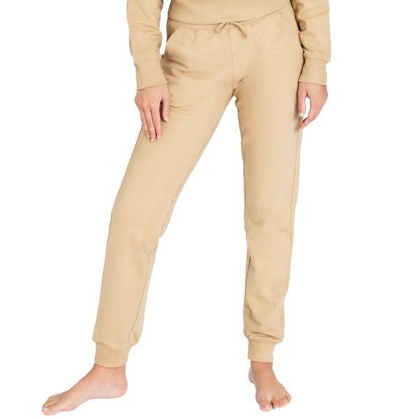 Bread & Boxers Bread and Boxers Lounge Pant By Biderman - Beige  - Size: 637305 - Color: Beige