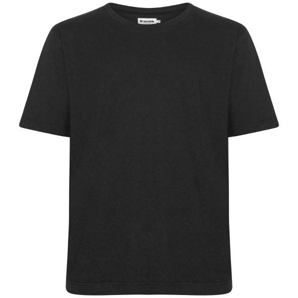 Resteröds Mid Sleeve Solid - Black  - Size: 8191-6206 - Color: musta