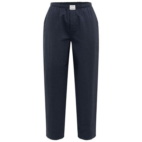 Resteröds Woven Pyjama Pants - Darkblue  - Size: 7997-92 - Color: tummansin.