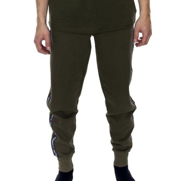 Tommy Hilfiger Authentic Track Pant - Darkgreen  - Size: UM0UM00706 - Color: tummanvihr.