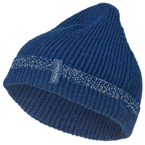 Pierre Robert Wool Reflective Hat for Kids - Navy-2  - Size: 32252 - Color: Merensininen