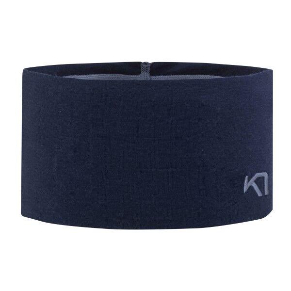 Kari Traa Tikse Headband - Navy-2  - Size: 610923 - Color: Merensininen
