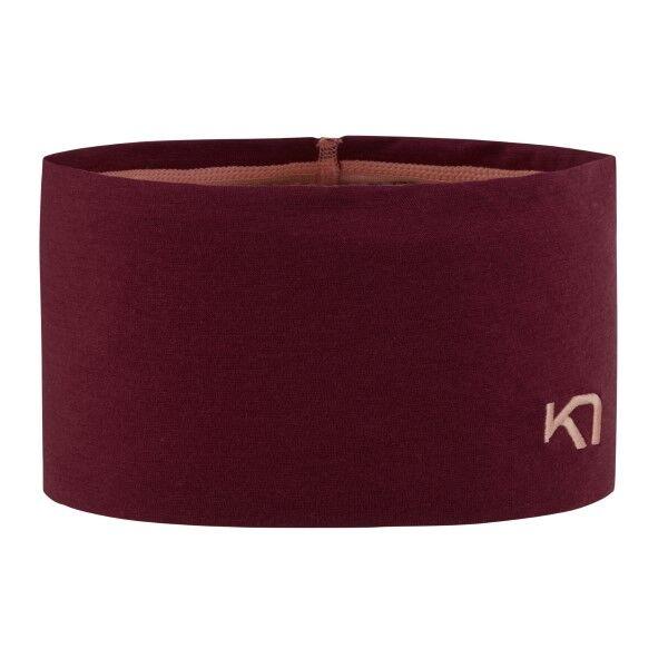 Kari Traa Tikse Headband - Wine red  - Size: 610923 - Color: viininpun.