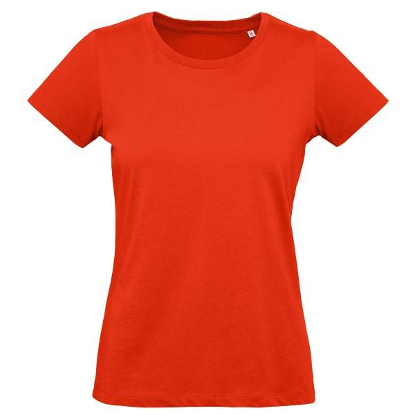 B & C Collection B and C Organic Inspire Plus T Women T-shirt - Red  - Size: TW049 - Color: punainen