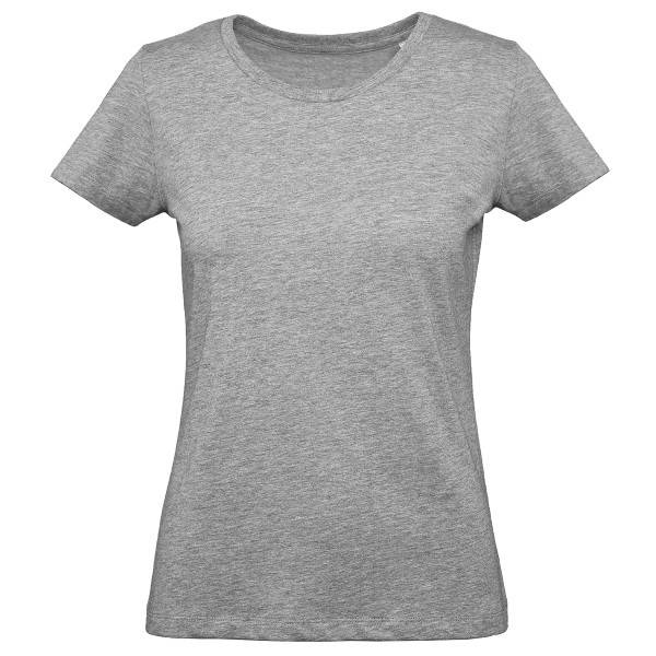 B & C Collection B and C Organic Inspire Plus T Women T-shirt - Grey  - Size: TW049 - Color: harmaa