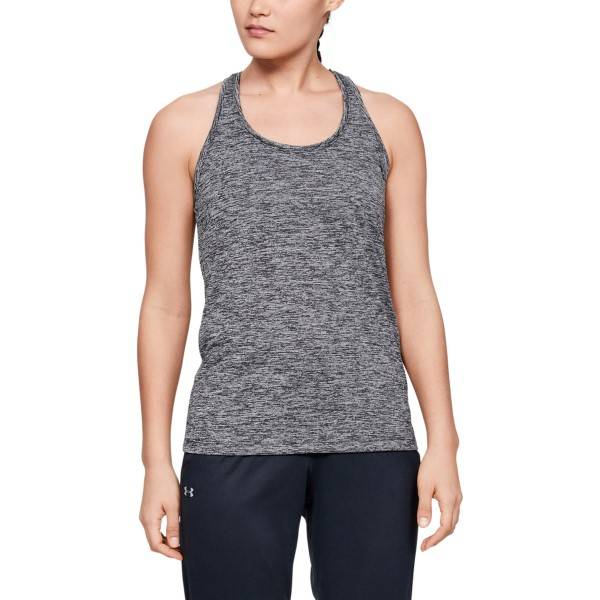 Under Armour Tech Twist Tank - Black  - Size: 1275487-001 - Color: musta
