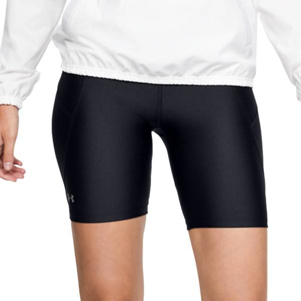 Under Armour Women HeatGear Armour Bike Shorts - Black  - Size: 1351688-001 - Color: musta
