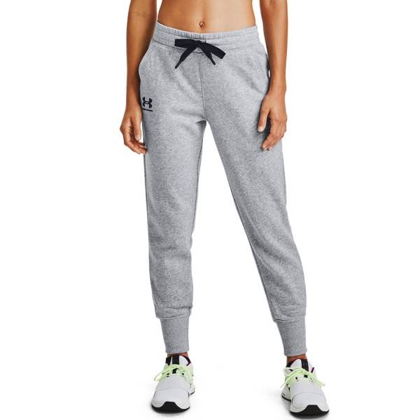Under Armour Rival Fleece Jogger Pants - Grey  - Size: 1356416-035 - Color: harmaa