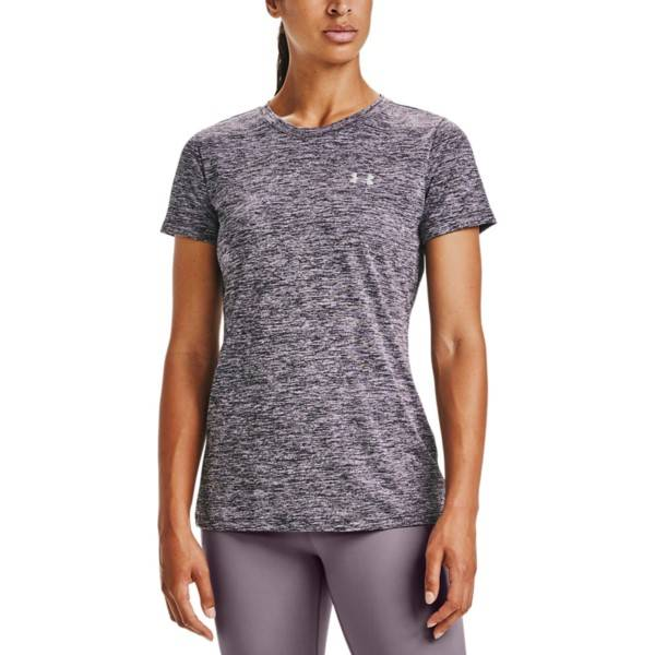 Under Armour Tech Twist T-shirt - Lilac Pattern  - Size: 1277206-585 - Color: Violetti kuviollinen