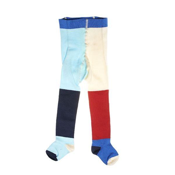 Happy socks Block Tights Stripe UPP - Red * Kampanja *