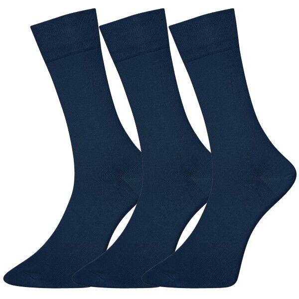 Salming 3 pakkaus No Nonsense Men Socks - Navy-2  - Size: 800038 - Color: Merensininen