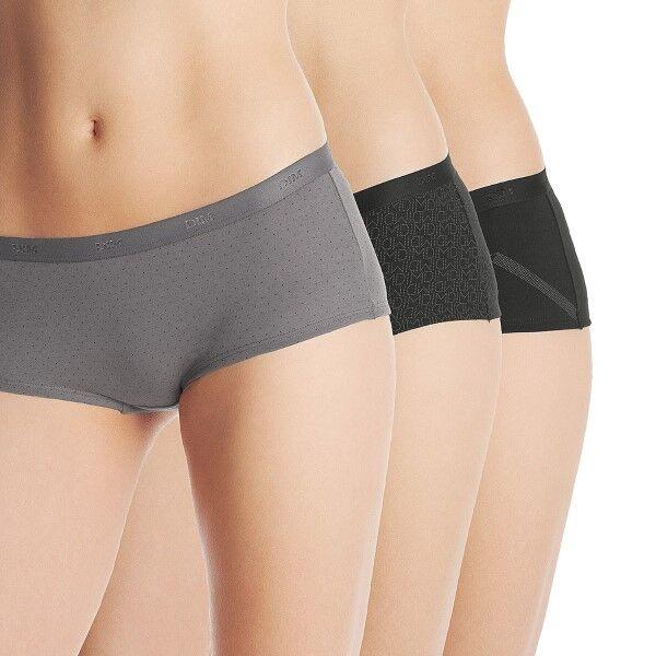DIM. 3 pakkaus Les Pockets Boxer - Black pattern