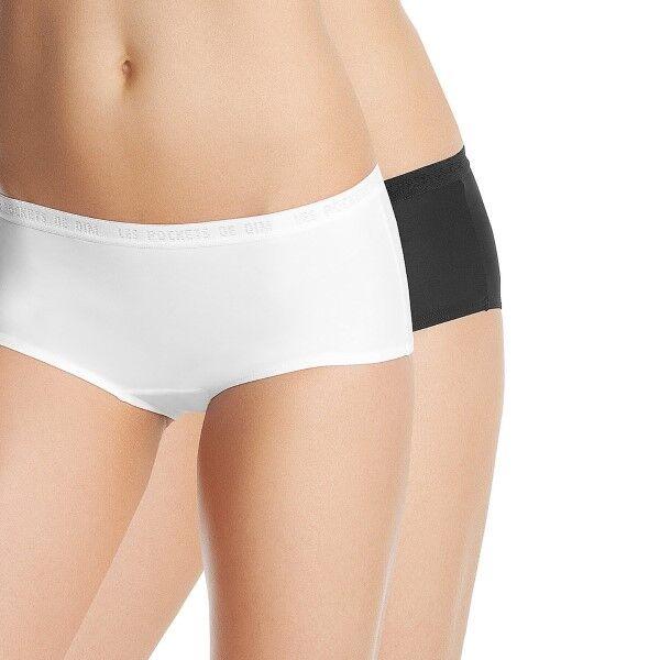 DIM. 2 pakkaus Les Pockets Mikro Boxer - Black/White