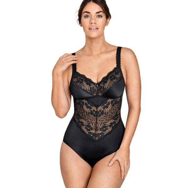Miss Mary of Sweden Miss Mary Fantastic Flair Body - Black  - Size: 3619 - Color: musta