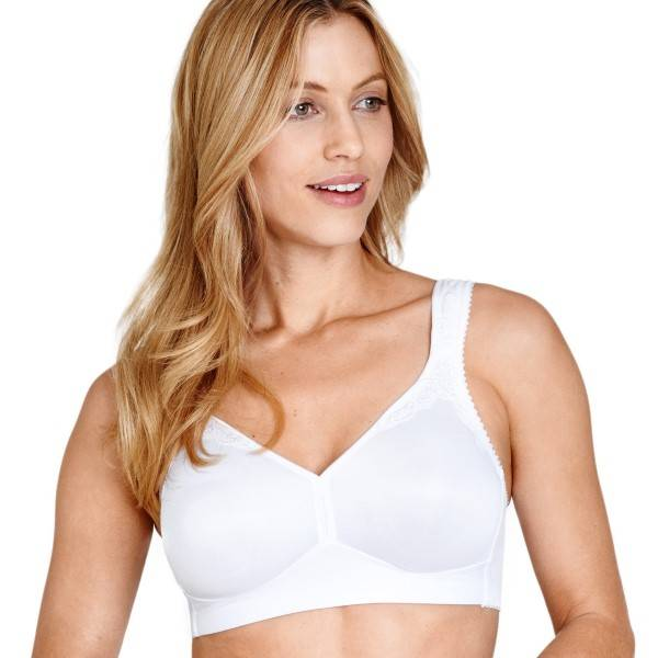 Miss Mary of Sweden Miss Mary Smoothly Moulded Soft Bra - White  - Size: 2020 - Color: valkoinen