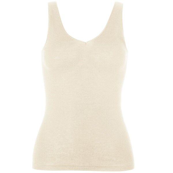 Hanro Woolen Silk Tank Top 263 - Ivory