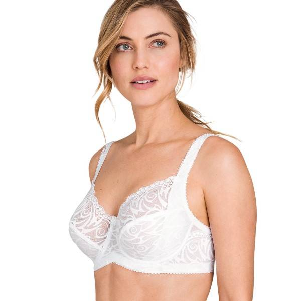 Miss Mary of Sweden Miss Mary Flames Underwired Bra - White