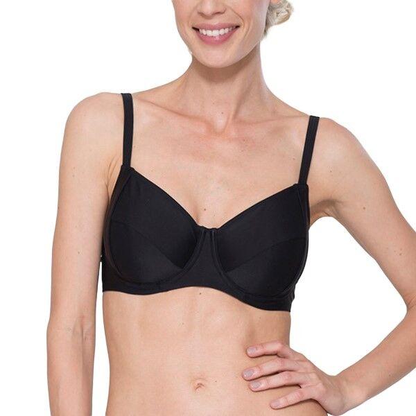 Abecita Alanya Bikini Wire Bra - Black