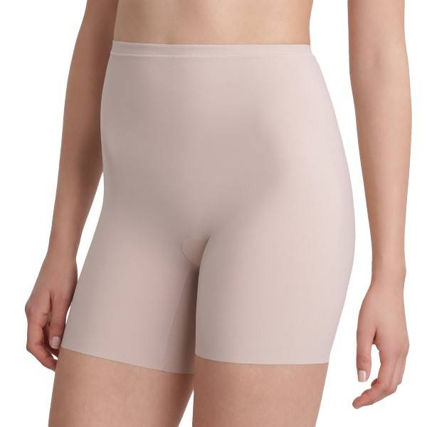 Maidenform Sleek Smoothers Shorty - Beige  - Size: 2060 - Color: Beige