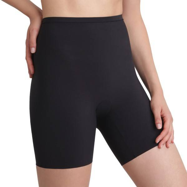 Maidenform Sleek Smoothers Shorty - Black  - Size: 2060 - Color: musta