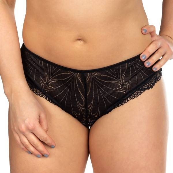 Wonderbra Refined Glamour Shorty - Black  - Size: W031T234007 - Color: musta