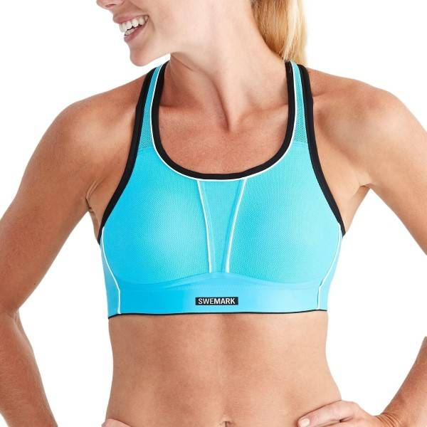 SWEMARK Sport by Swegmark Swemark Movement Sport Bra - Blue  - Size: 14400S - Color: sininen