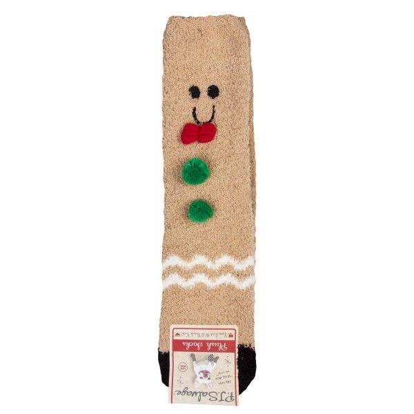 PJ Salvage Fun Socks Gingerbread - Mixed * Kampanja *