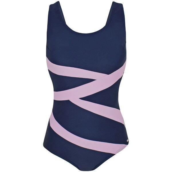 Abecita Twist Swimsuit - Blue/Pink