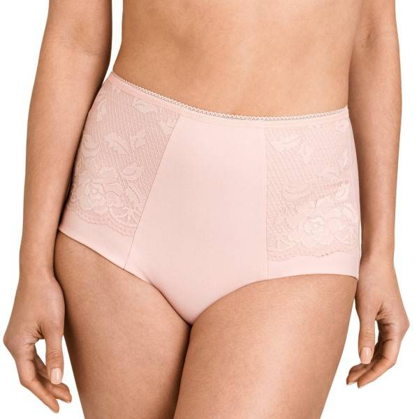 Miss Mary of Sweden Miss Mary Lovely Lace Girdle - Pink  - Size: 4105 - Color: roosa