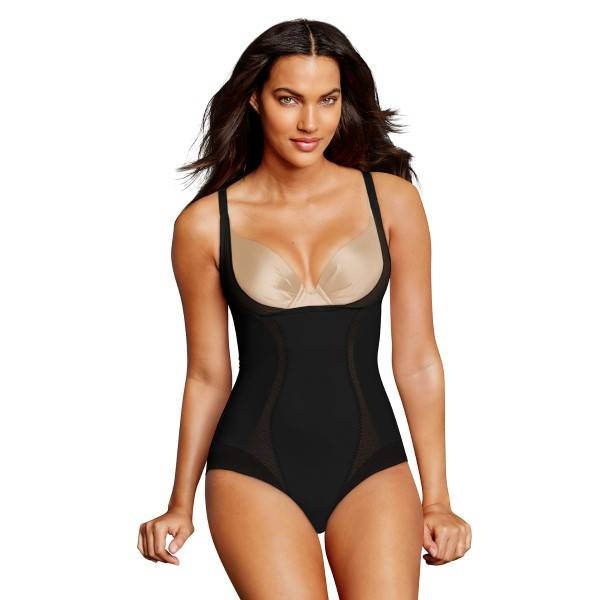 Maidenform Firm Foundations WYOB Body - Black  - Size: DM5004 - Color: musta