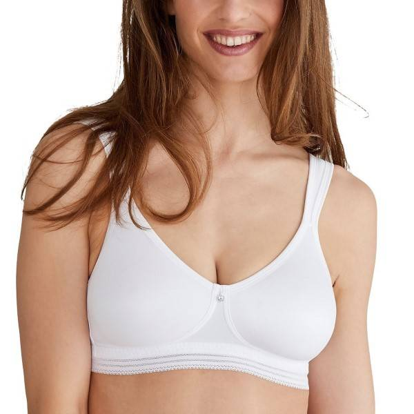 Swegmark Clean Shape Soft Bra - White  - Size: 10550 - Color: valkoinen