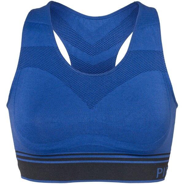Image of Pierre Robert Sports Bra - Black/Blue  - Size: 68604 - Color: musta/sin