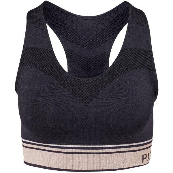 Image of Pierre Robert Sports Bra - Black  - Size: 68451 - Color: musta