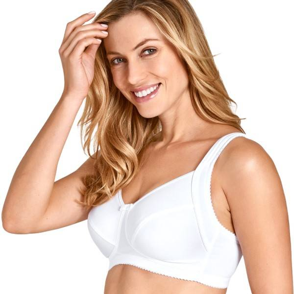Miss Mary of Sweden Miss Mary Happy Days Non-Wired Bra - White