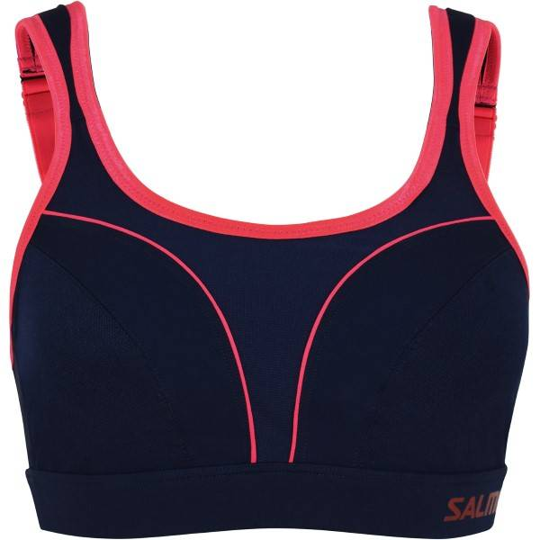 Salming Grit Support Sport Bra - Navy-2  - Size: 943019 - Color: Merensininen