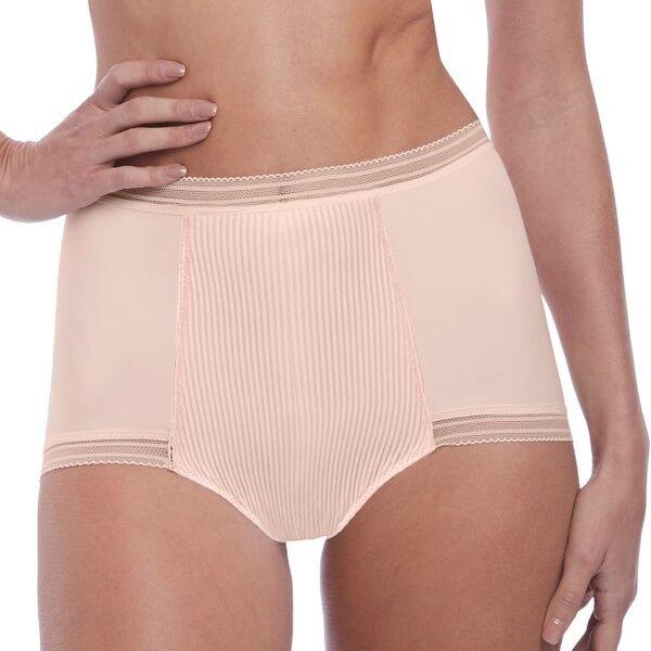 Fantasie Fusion High Waist Brief - Pink  - Size: FL3098 - Color: roosa