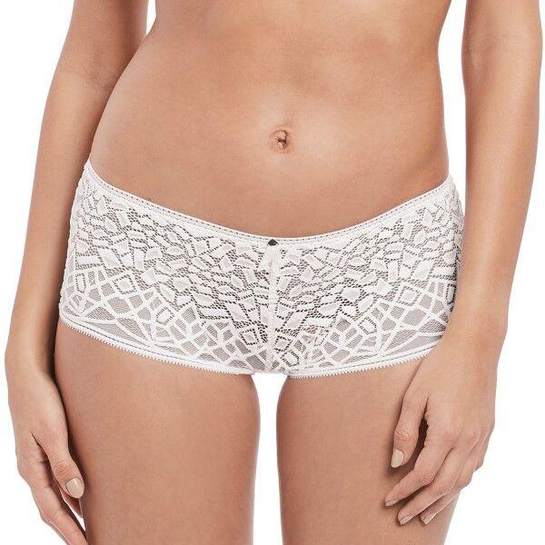 Freya Soiree Lace Short - White
