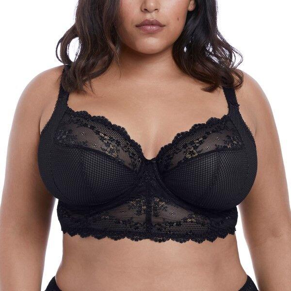 Elomi Charley Underwire Bralette - Black * Kampanja *  - Size: EL4381 - Color: musta