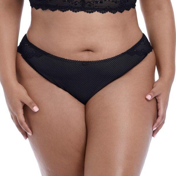Elomi Charley Brazilian - Black  - Size: EL4385 - Color: musta