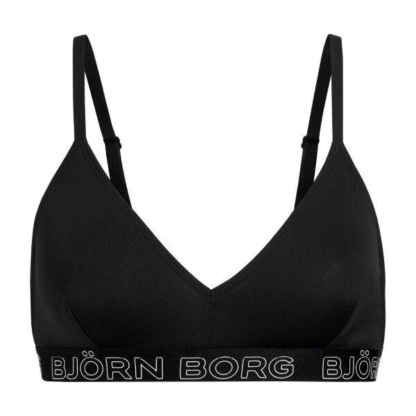 Björn Borg Core Solid Triangle Bra - Black  - Size: 9999-1184 - Color: musta