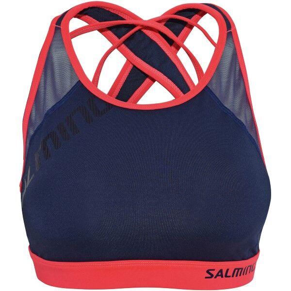 Salming Core Support Sports Bra - Navy-2  - Size: 944018 - Color: Merensininen