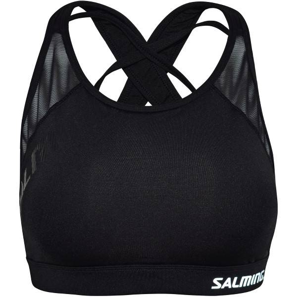 Salming Core Support Sports Bra - Black  - Size: 944018 - Color: musta