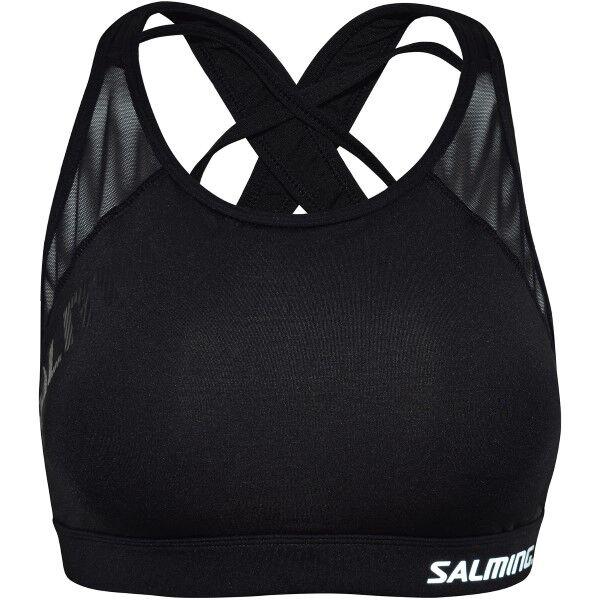 Salming Core Support Sports Bra - Black  - Size: 944018 - Color: musta
